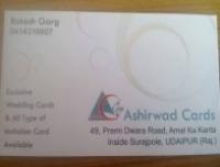 ASHIRWAD CARDS