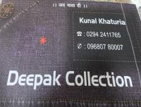 Deepak collection - Men's clothing logo