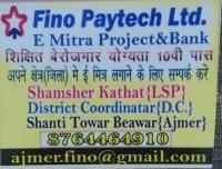 Fino Paytech Ltd. E Mitra Project & Bank